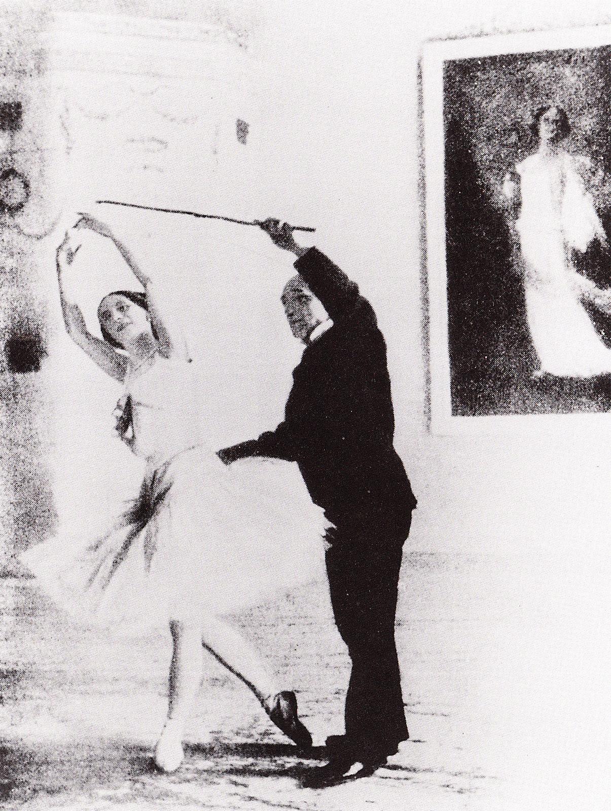 Cecchetti with Anna Pavlova