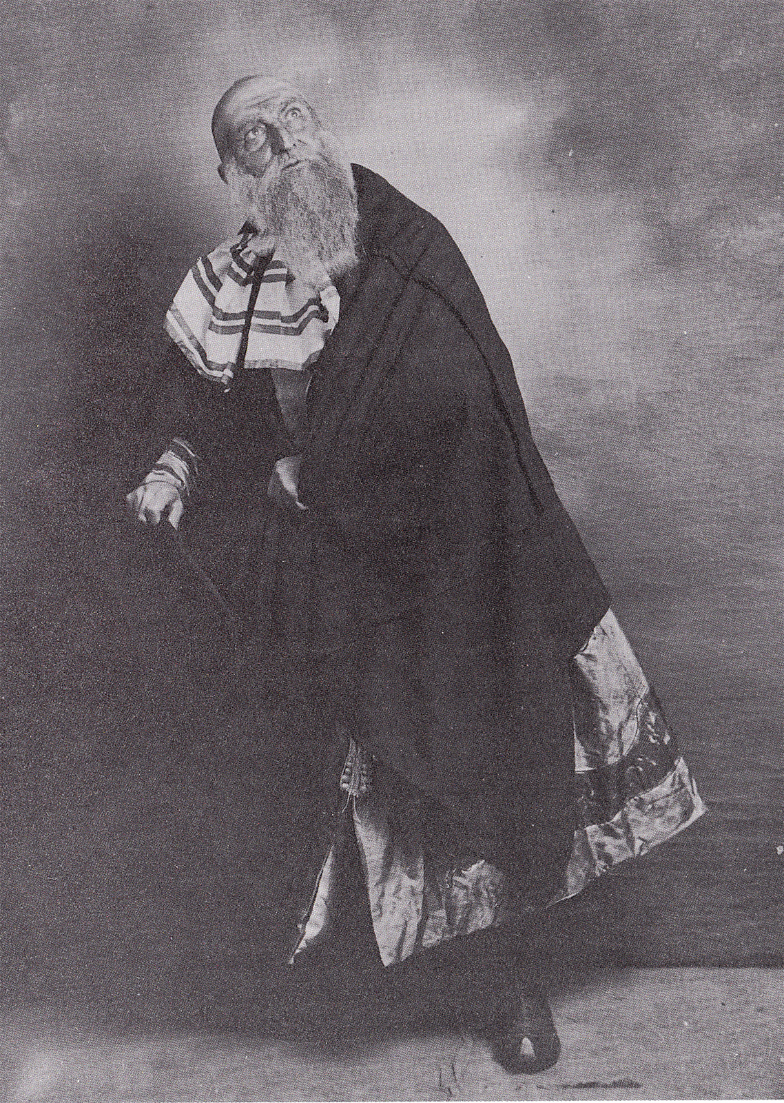 Cecchetti as the Charlatan in 'Petrouchka' Ballets Russes 1911 (photo courtesy Livia Brillarelli)