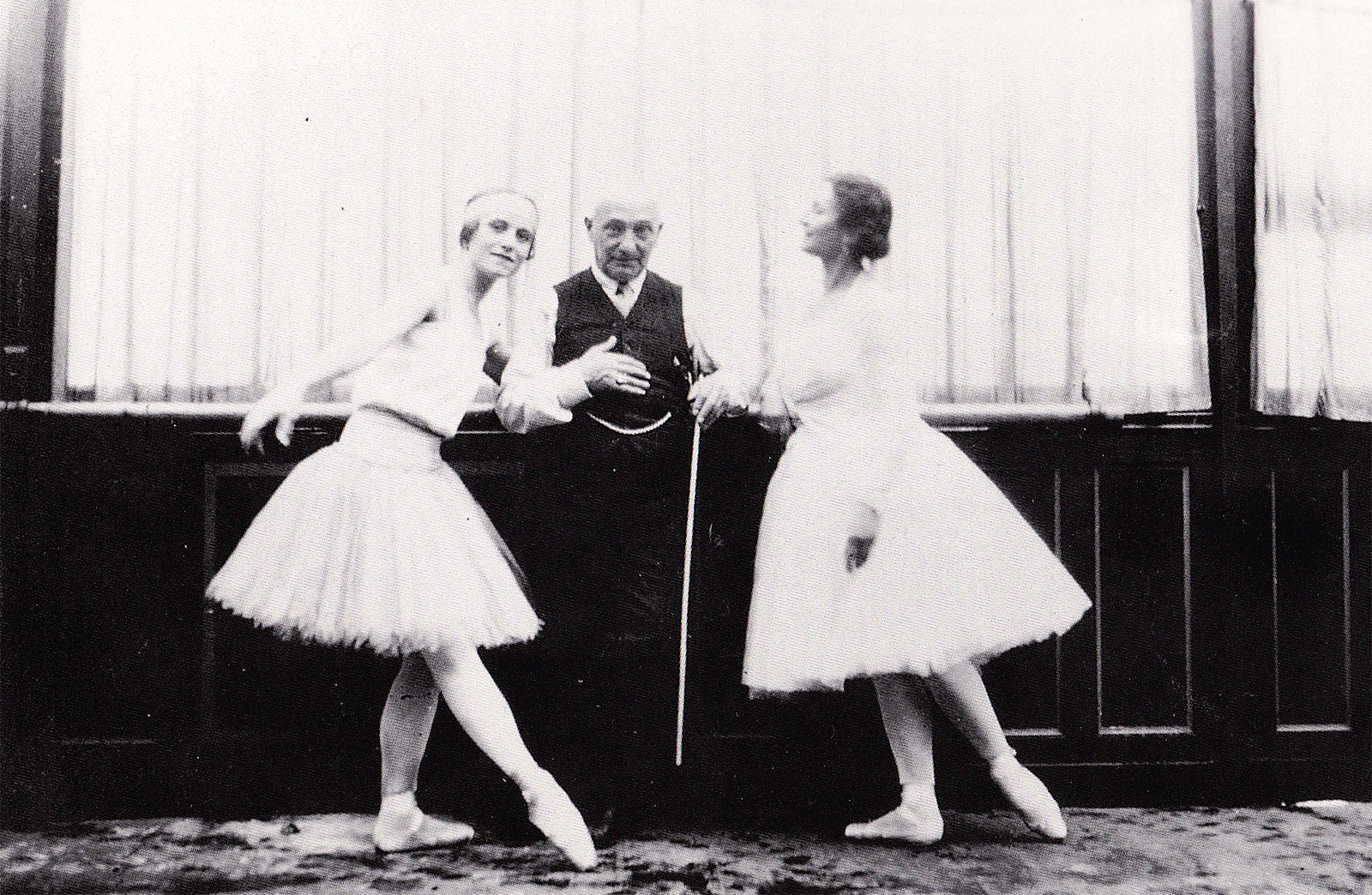 Cecchetti in Paris circa 1920 (photo courtesy Livia Brillarelli)