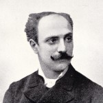 Cesare Cecchetti as a young man