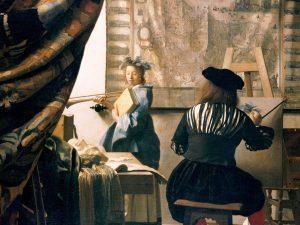 The Art of Painting by Johannes Vermeer c. 1666-1669